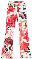 Just Cavalli Floral Flare Jeans