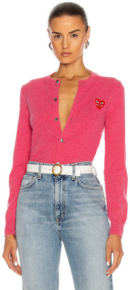 Comme des Garcons Cardigan in Pink | FWRD