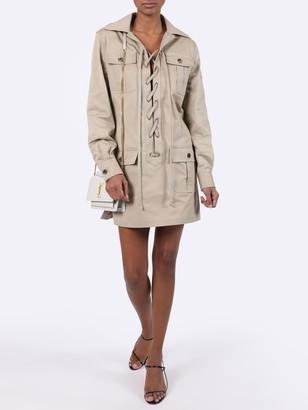 Saint Laurent Safari Mini Dress