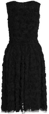 Dolce & Gabbana Appliquéd Tulle Dress
