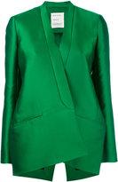 Maison Rabih Kayrouz large blazer - women - Acetate/Cupro/Polyester/Silk - 38