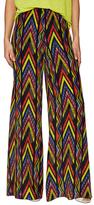 M Missoni Silk Printed Wide Pant