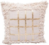 Karma Living Boho Decorative Pillow - 18 x 18 - Gold