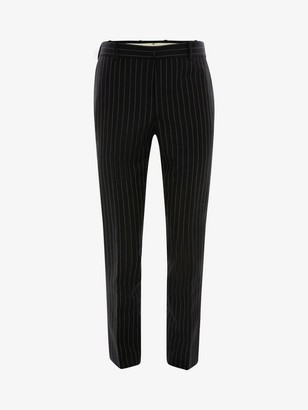 Alexander McQueen Pinstripe Pants