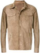 Eleventy fitted buttoned jacket