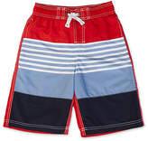 Nautica Little Boys' Ombre Stripe Swim Trunk (2T-7)