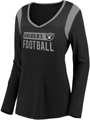 Unbranded Women's Oakland Raiders High-Low Tee