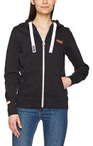Superdry Women's Orange Label Primary Ziphood Sports Hoodie,(Manufacturer Size: 42)