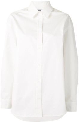 we11done Button-Up Long-Sleeve Shirt