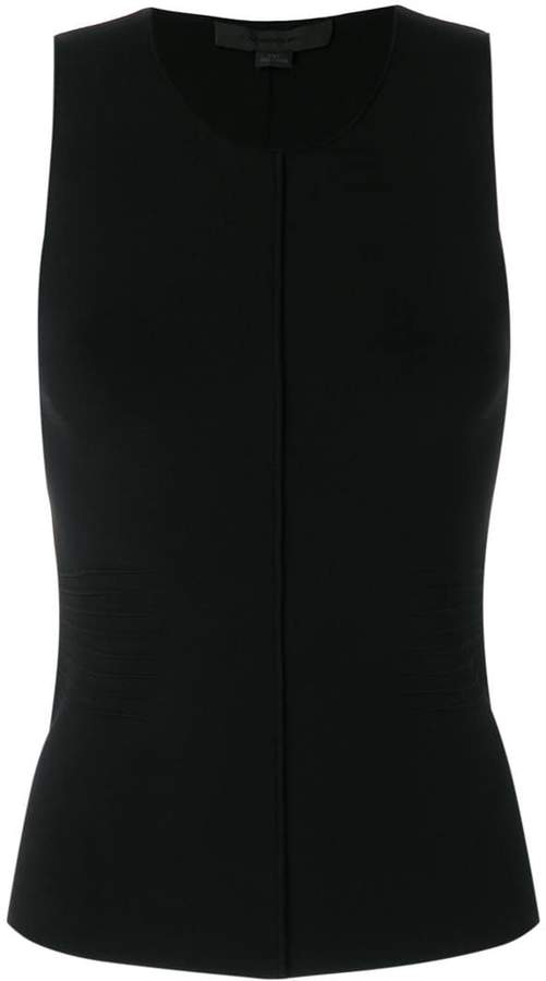 Alexander Wang pleated detail sleeveless top