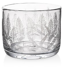 Simon Pearce Engraved Fern Bowl