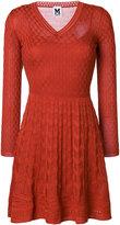 M Missoni belted mini dress
