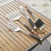 Crate & Barrel Wood-Handled Grill Tools