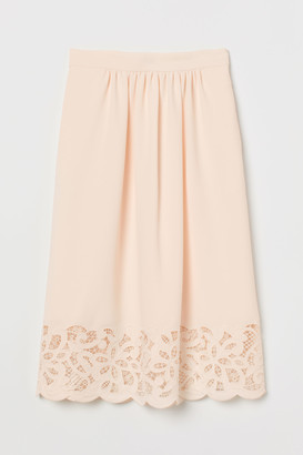 H&M Skirt with lace