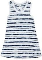 Splendid Girl Indigo Tie Dye Dress