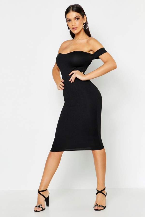 66ff9be9d87a boohoo Off The Shoulder Dresses - ShopStyle
