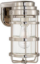 Ralph Lauren Home Crosby Small Sconce - Polished Nickel/Clear