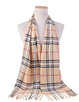 Spring fever Classic Plaid Noble Style Cashmere Feel Winter Warm Tartan Scarf