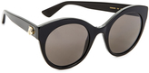 Gucci Cat Eye Tiger Sunglasses