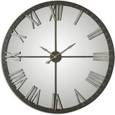Uttermost Amelie Large Wall Clock in Bronze