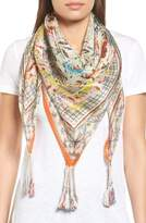 Johnny Was Women's Tribute Silk Square Scarf