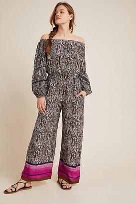 Bl Nk Bl-nk Louisa Printed Jumpsuit