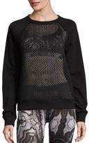 Alo Yoga Elemental Mesh Paneled Sweatshirt