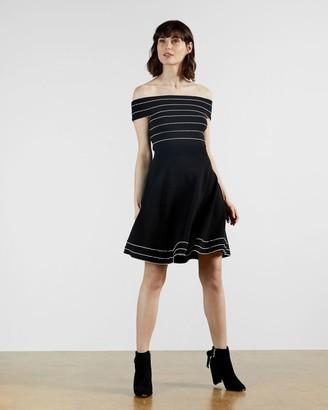 Ted Baker Bardot Knitted Skater Dress