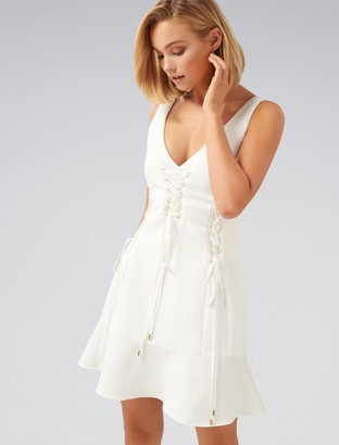 Ever New Isabel Lace Up Dress