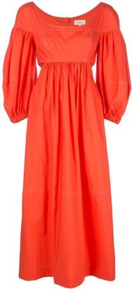 Isa Arfen panelled ruched dress