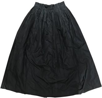 Cerruti Black Silk Skirt for Women Vintage