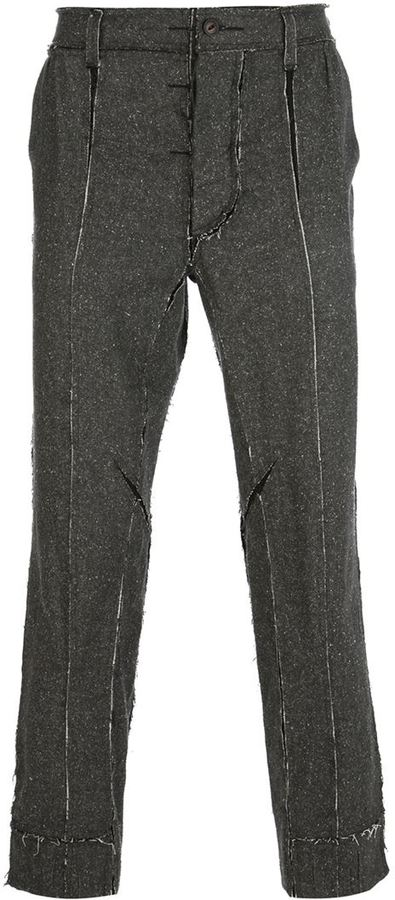 The Soloist slim-fit silk trouser