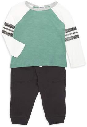Splendid Little Boy's Long-Sleeve Raglan Sweater & Pants Set