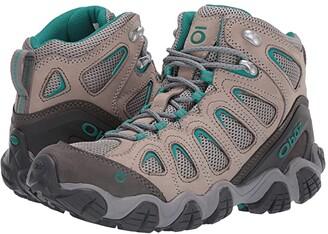 Oboz Sawtooth II Mid (Drizzle/Aqua) Women's Shoes