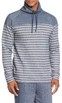 Tommy Bahama Men's French Terry Cotton Blend Funnel Neck Sweater