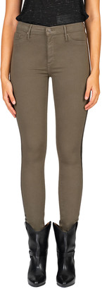 Black Orchid Gisele High-Rise Skinny Jeans w/ Foil Side Stripes