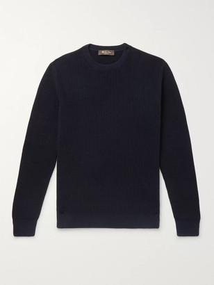 Loro Piana Ribbed Cashmere Sweater