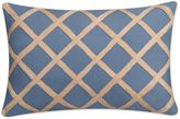 Anguilla Breakfast Throw Pillow in Teal