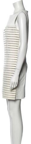 Thumbnail for your product : Jitrois Striped Mini Dress White