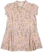 Caramel Baby And Child Floral Printed Viscose Muslin Dress
