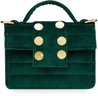 Kooreloo Velvet Petite Coin Crossbody Bag