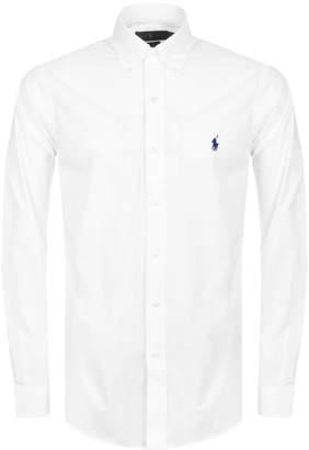 Ralph Lauren Long Sleeved Slim Fit Shirt White
