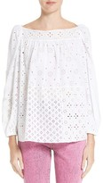 Marc Jacobs Women's Broderie Anglaise Blouse