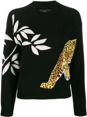 Alanui Jaguar intarsia jumper