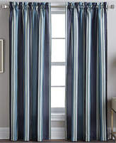 "CHF CLOSEOUT! Peri Faux Silk Stripe 42"" x 95"" Panel"