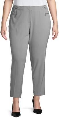 Calvin Klein Plus Classic Straight Pants
