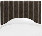 Beachcrest Home Galewood Upholstered Headboard Size: Full, Color: Fritz Charcoal