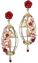 Of Rare Origin Lovebirds Cage Earrings