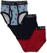 "Nautica Little Boys' Toddler ""Bold & Crabby"" 3-Pack Briefs"