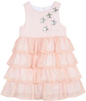 Pastourelle Tiered Chiffon Dress